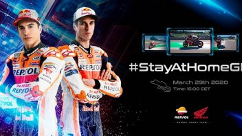 """MotoGP: Marc Marquez: """"A virtual race? I want to win it anyway"""""""