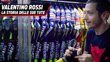 MotoGP: Valentino Rossi e la storia delle sue tute Dainese : ecco le preferite