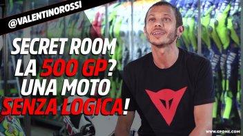 """MotoGP: Valentino Rossi Secret Room: """"Le 500 GP? Moto fuori da ogni logica!"""""""