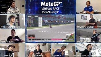 MotoGP: GP Mugello Virtuale: Vittoria all'esordio per Alex Marquez su Bagnaia