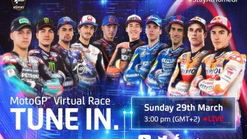 MotoGP: First virtual Grand Prix (without Rossi): when and where to see it