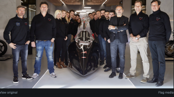 News: Max Biaggi e Venturi pronti a battere il record del mondo di velocità