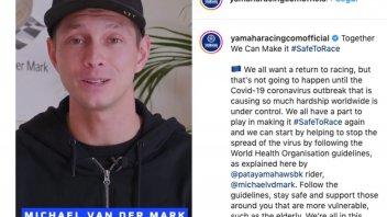 """SBK: Van Der Mark: """"Volete vederci tornare a correre? Rispettate le regole"""""""