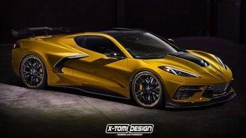 Auto - News: La Corvette C8 arriverà in una variante ibrida Zora da mille cavalli!