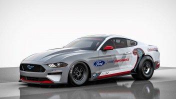 Auto - News: Ford Mustang Cobra Jet 1400, Dragster elettrico da 1.400 cavalli!