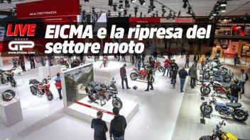 Moto - News: LIVE – EICMA e settore moto alle 18:00 nella nostra diretta Facebook