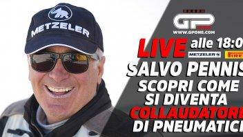 Moto - News: LIVE - Salvo Pennisi di Pirelli/Metzeler in diretta alle 18:00 su GPOne