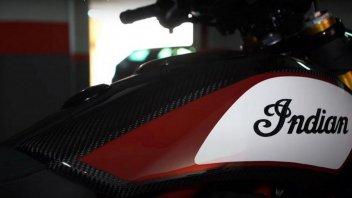 Moto - News: Indian FTR 1200 Carbon, in arrivo per il 1° maggio