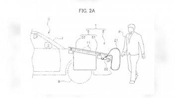 Moto - News: Honda brevetta un airbag auto a difesa di pedoni e motociclisti