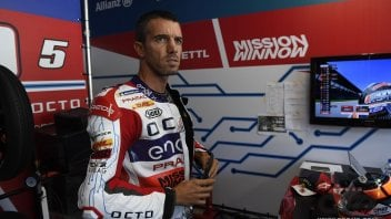 """MotoE: De Angelis: """"In MotoE there is a lot of paint-swapping, but we don't do it on purpose!"""""""