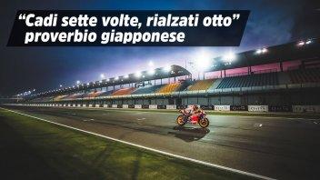 """MotoGP: Honda HRC emoziona: """"Cadi sette volte, rialzati otto"""""""