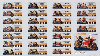 MotoGP: The Hondas of Wonders: 15 titles and 180 victories