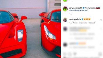 MotoGP: Jorge Lorenzo cuore Ferrari: ecco i suoi gioielli in Rosso