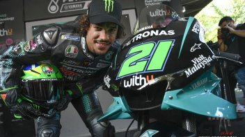 """MotoGP: Morbidelli: """"I would like to steal Rossi's ability to amaze"""""""