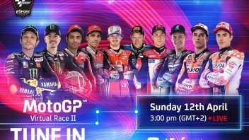 MotoGP: Rossi accepts the challenge: lines up for the start of the Easter Virtual Race