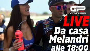 SBK: LIVE - Casa Melandri: at 18:00 on our Social with Marco and Manuela