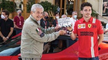 Auto - News: A Monte Carlo niente GP, ma si gira un film con Leclerc e una Ferrari