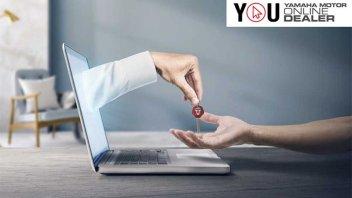 Moto - News: La Yamaha dei sogni può essere tua: fissa un appuntamento virtuale