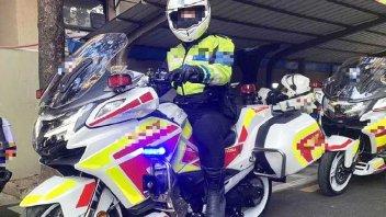 Moto - News: CFMoto CF1250J la maxi-tourer per la polizia con motore KTM