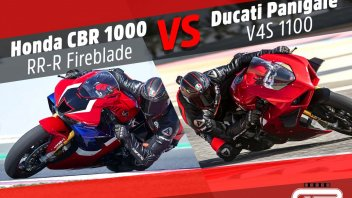 Moto - Test: Honda CBR 1000 RR-R against Ducati Panigale V4 2020: A challenge between the best
