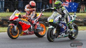 """MotoGP: Crutchlow: """"Se provi a imitare lo stile di Marquez va a finire male"""""""