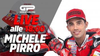 MotoGP: LIVE - Michele Pirro ospite della diretta alle 18.00 su GPOne
