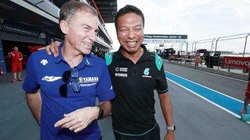 MotoGP: La Yamaha testimone delle nozze Petronas-Rossi
