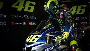 MotoGP: Cambio di piani: Valentino Rossi domani non sarà a Misano