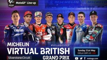 MotoGP: La Virtual Race di Silverstone in tv su Sky e live su GPOne