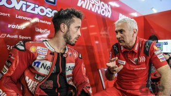 "MotoGP: Tardozzi: ""I'm fed up with hearing everyone called phenomena except Dovizioso"""