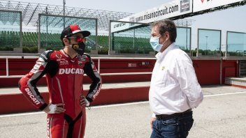 """News: Copioli: """"Seeing the riders on the track was a unique sensation"""""""