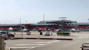 News: Misano activity starts up again without a crowd ... but with 13 riders on the track