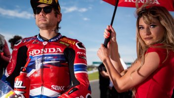 "SBK: Bautista: ""the Honda: as aggressive as a 2-stroke, the Ducati seems smooth"""