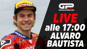 SBK: LIVE - Alvaro Bautista ospite della diretta alle 17:00 su GPOne