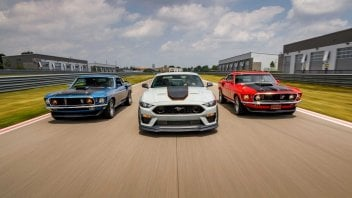 Auto - News: Ford Mustang 2021: il ritorno del mito americano, la Mach 1