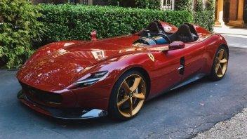 Auto - News: Tentazioni? Una Ferrari Monza SP2 per Max Verstappen