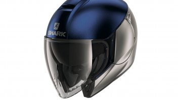 Moto - News: Shark lancia il Citycruiser, casco jet molto protettivo