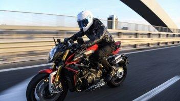 Moto - News: MV Agusta Brutale 1000 RR: estrema ma docile, fai l'assetto con un'app
