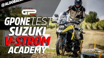 Moto - Test: Suzuki V-Strom Academy: lezioni di Off Road in sella alla 1050XT