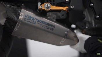 Moto - News: La Kawasaki ZX-25R l'urlo del 4 cilindri con lo scarico Yoshimura