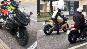 Moto - News: Aprilia RS660: spuntano le foto spia degli ultimi collaudi