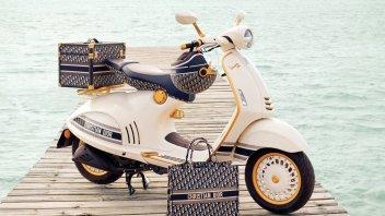 Moto - News: Vespa 946 Christian Dior, partnership tra fuoriclasse nate nel 1946