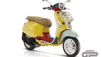 Moto - Scooter: Vespa e Sean Wotherspoon: una Primavera di colori