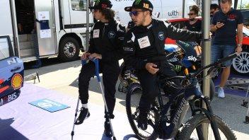 """Moto2: Frattura all'astragalo per Bezzecchi: """"sarò OK per il 1° GP a Jerez"""""""