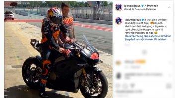 MotoGP: Jack Miller torna in sella: test con la Ducati Panigale V4r in Spagna