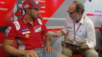 """MotoGP: Meda: """"Ho urlato più per le vittorie di Dovizioso che per Rossi"""""""