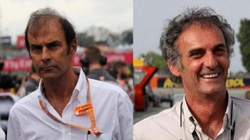 MotoGP: Emanuele Pirro and Franco Uncini: summit meeting in Misano