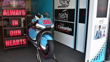 MotoGP: da Rossi a Lorenzo: i 'momenti' di Barcellona in memoria di Luis Salom