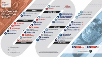 MotoGP: Su Sky riparte la stagione motori: dal 5 luglio F.1 e dal 19 MotoGP