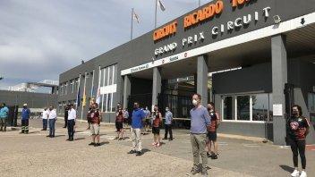 MotoGP: Il circuito Ricardo Tormo di Valencia riapre dopo 79 giorni